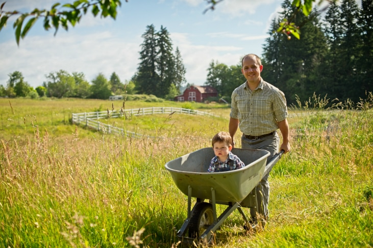 No-flat wheelbarrow tires are a great gift for the homesteader in your life