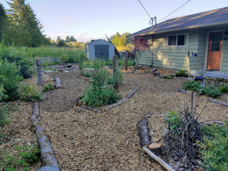 add habitat features to nature trails