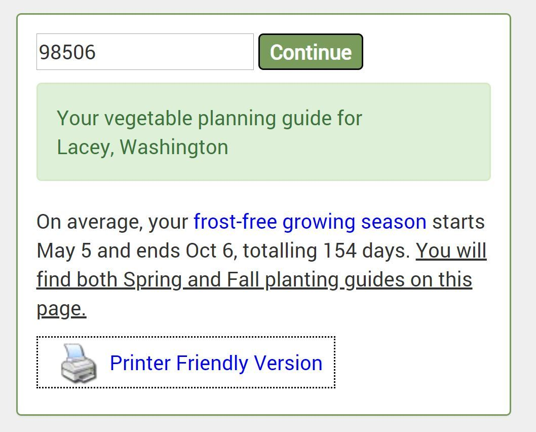 Choose the right vegetables to plant based on your growing season