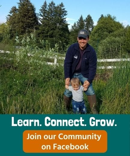 Learn. Connect. Grow. Join the Wild Homesteading Community on Facebook